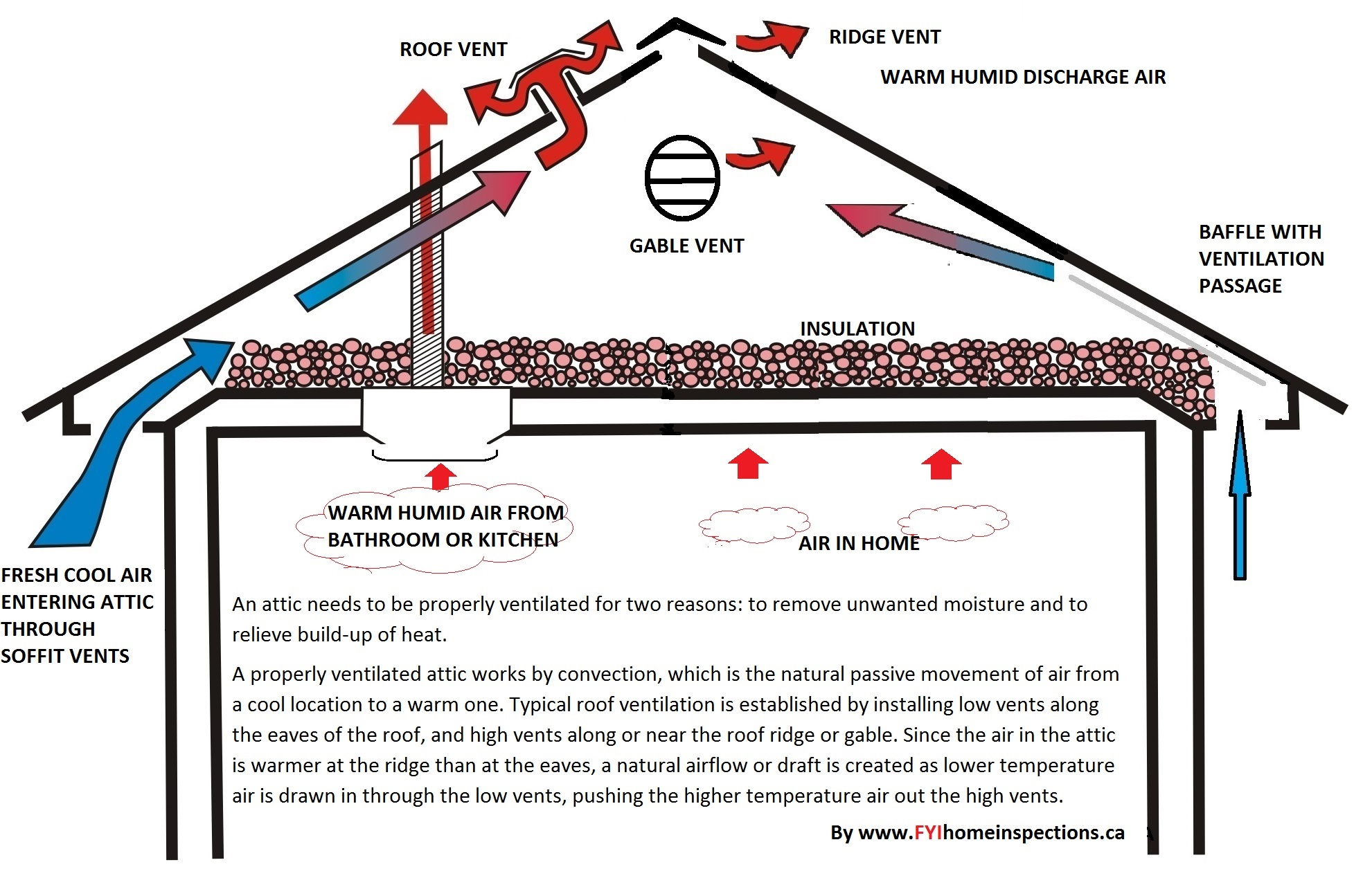 Effective Attic Ventilation please click image to enlarge. #0580C2